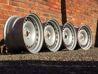 Honda Civic banded steel wheels, 4x100 rare