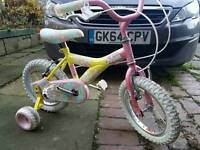 Girls raleigh mini miss bike