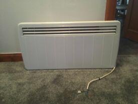 Dimplex radiator heater