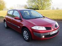 06 RENAULT MEGANE *AUTOMATIC* FULL YEARS MOT!!* 66K* CLIO CORSA FIESTA POLO C2 C3 ASTRA FOCUS GOLF