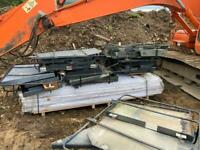 10 sets excavator cab guards