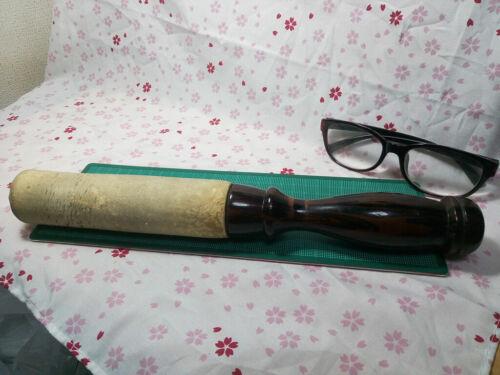 "HUGE 12.8"" Japanese Buddhist Bell Striker Stick ST007"