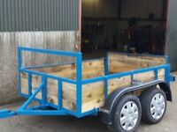 7FT X5FT TWIN AXLE TRAILER