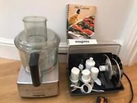 Magimix 3200 Satin Silver Food Processor - Excellent condition £140 OBO