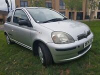 YARIS 1.3 AUTOMATIC WARRANTED MILEAGE 45K,FULL SERVICE HISTORY WITH 8 STAMPS,WARRANTED LOW MILEAGE