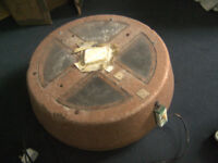 Small incubator and infra-red lamp