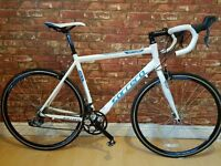 "Carrera Virtuoso 2015 Road Bike, 16 Speed. 22"" Frame. Excellent Condition. Shimnao SPD's"