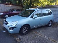 2007 Kia Carens Automatic Diesel 7 Seats only 70000 miles in good condition