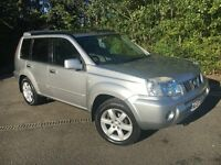 2007 Nissan X-trail Columbia DCI 2.2 Diesel, 4x4, Low Mileage, TOP OF THE RANGE, Long MOT