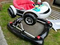Racing car walker only been used 3 times