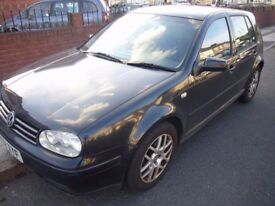 VW GOLF GT TDI PD 150BHP