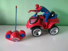 Large spiderman RC car