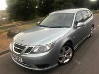 2010 60 Saab 9-3 Turbo Edition 1.9 tid 6 Speed 120 Bhp sport wagon # full leather # parking sensors