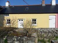 Carew Cheriton Nr. Tenby 2/3 bed beamed cottage unfurnished
