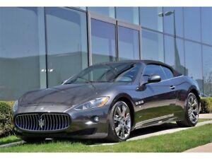 2012 Maserati GRANTURISMO CONVERTIBLE **S**