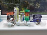 Brand New Electric replacement bulbs mixed
