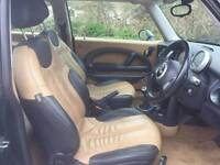 MINI HATCHBACK 1.6 LOVELY RACING GREEN WITH CREAM LEATHER SEATS