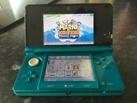 Really good condition 3ds plus 100 games