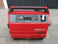 New Price.....Used Honda EX650 Four-Stroke, Air Cooled Portable Generator