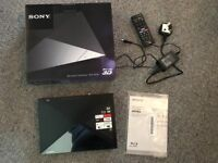 Sony 3D Blu-ray and DVD player