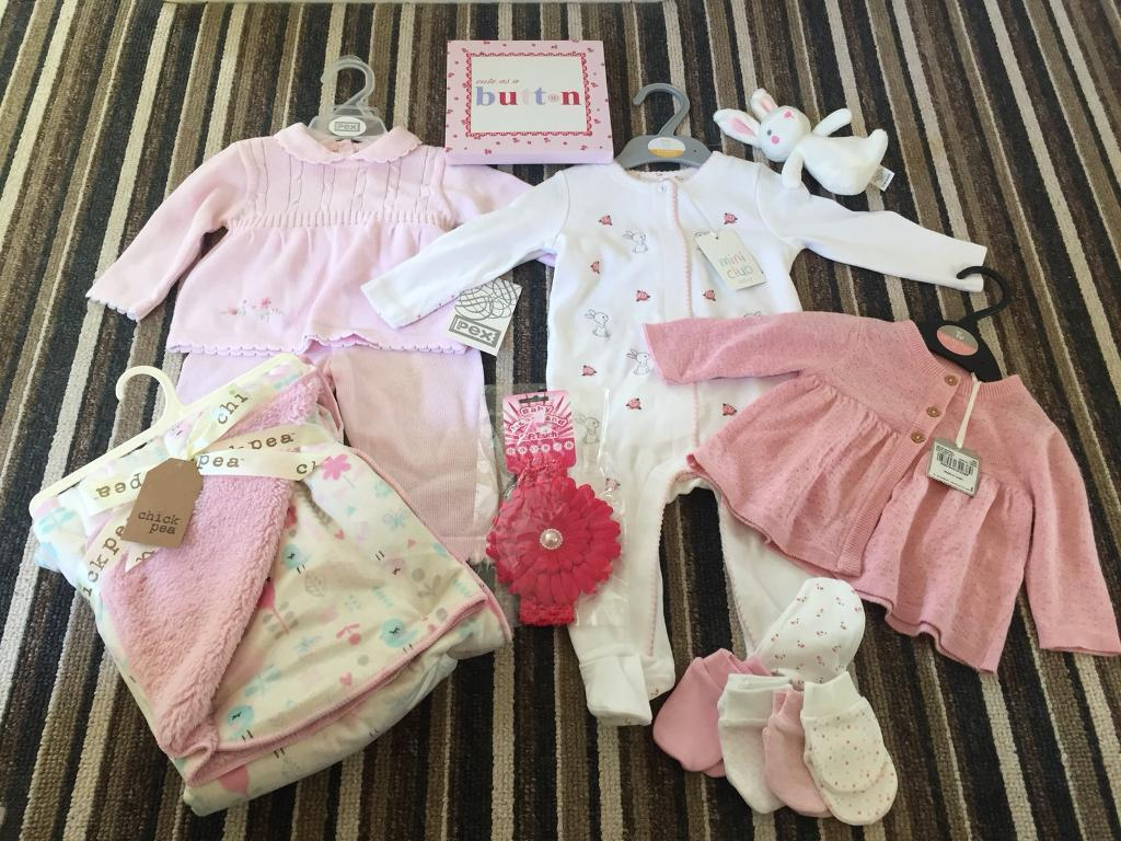 Baby bundle clothes girl brand new