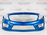 MERCEDES A CLASS AMG W176 GENUINE BLUE FRONT BUMPER 2012-2015 [PC261]