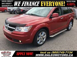2010 Dodge Journey R/T AWD 7 SEATER V6 DVD LEATHER