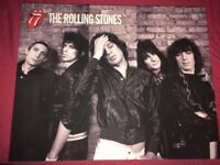 The Rolling Stones Music Canvas Wall Art Deco CVC 242 Size 50x40cms