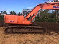2000 Hitachi EX165 LC 16 Ton Excavator