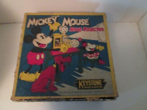 DISNEYANA-1934-KEYSTONE-Mickey Mouse Movie Projector w/Box