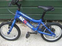 "Child's Ridgeback MX14 Terrain Bicycle 14"" Wheels"
