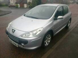 2007 Peugeot 307 1.6 hdi with service history