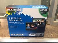 "NextBase car9D 9"" dual car DVD players."