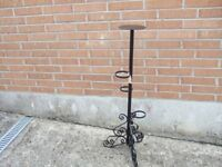 Plant flower display stand Wrought iron