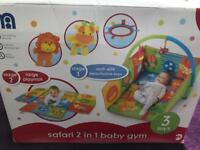 Mothercare Safari 2 in 1 Baby Gym