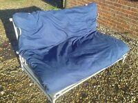 Futon Metallic Base Bed - Sofa