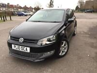 VW Polo Moda 1.2L (2010) Black
