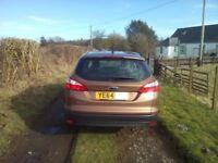 2014 Ford Focus 1.6tdci Zetec Navigator estate (£20 tax)