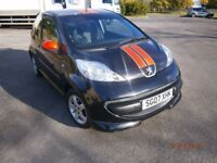 PEUGEOT 107 XS SPORT EXVERY EXTRA FIRST TO SEE WILL BUY