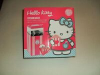 Hello Kitty Popcorn Maker with 5 popcorn bags included. Brand New and boxed.