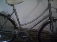 RALEIGH CAPRICE,LADIES ROAD BIKE,18 INCH FRAME,24 INCH WHEELS,3GEARS,SUITABKE FOR UP TO 5FT.3
