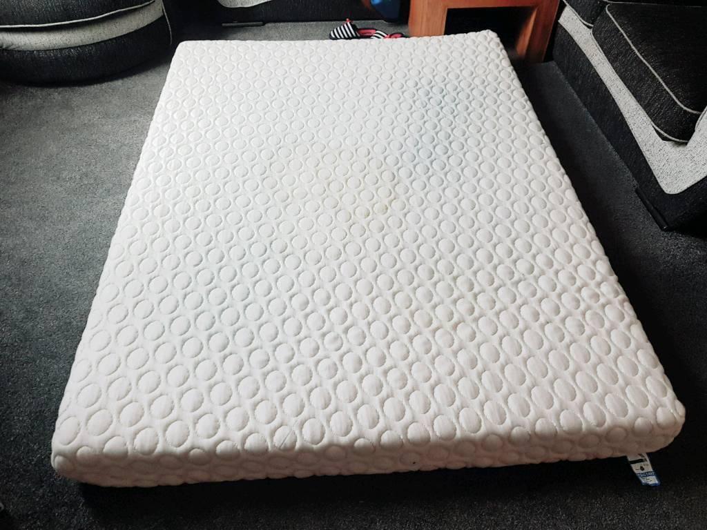 King size orthopedic memory foam mattress