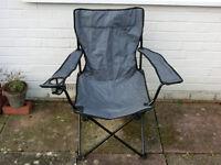 Fishing / Garden Chair / Camping Folding Chair - Ascot Berkshire