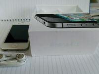 Apple iPhone 4S - 16GB - White (EE) Smartphone exceptional condition Completely reset