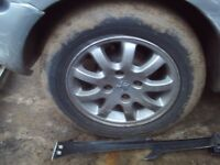 peugeot alloys with 4 good tyres