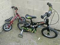Children's bikes x 2