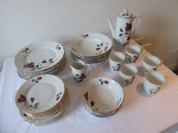 Large selection of vintage Polish china/crockery/dinner set. Job Lot bargain.