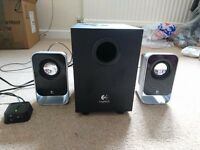 speakers with subwoofer and 3.5 audio jack
