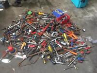 Large bundle of tools