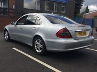 2007 MERCEDES E220 CDI * AUTO * BLACK LEATHER * LONG MOT * GOOD RUNNER * PART EX * DELIVERY *